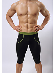 Men's Running Shorts High Breathability (>15,001g) Breathable Compression Swimwear Pants / Trousers 3/4 Tights Bottoms Exercise & Fitness