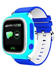 Недорогие -Муж. Спортивные часы Модные часы Наручные часы Цифровой Pезина Синий / Розовый LED GPS Cool Цифровой Оранжевый Синий