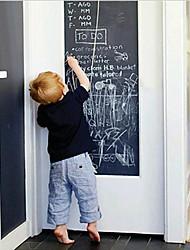 abordables -Pizarra Pegatinas de pared Adhesivos de Pared Negros,PVC 45*200cm