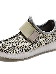 cheap -LED Light Up Shoes, Kid Boy Girl Unisex Upgraded USB Charging Sport Shoes Flashing Sneakers USB Charge  Luminous Flyknit Shoes