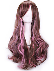 cheap -Synthetic Hair Wigs Body Wave Capless Long