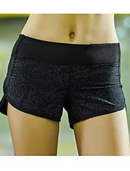 economico -Per donna Pantaloncini da corsa Asciugatura rapida Traspirante Compressione Materiali leggeri Pantalone/Sovrapantaloni Pantaloni Yoga