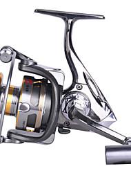 6000 Size 4.9:1 Full Metal Reel 12+1 Ball Bearings All Metal Sea Fishing Saltwater Fishing Spinning Fishing Reel
