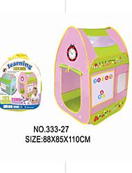 Недорогие -дети играют игрушка-головоломка развлечения рано ребенок палатки съемки игры дом с буквами