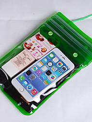baratos -Caixas secos / Bolsas Impermeáveis Unissex Impermeável Mergulho e Snorkeling Vermelho / Amarelo / Verde / Azul / Roxa / Preta PVC