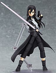 cheap -Anime Action Figures Inspired by Sword Art Online Kirito PVC 15 CM Model Toys Doll Toy