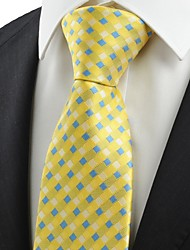 cheap -Men's Luxury Pattern Grid Creative, Stylish