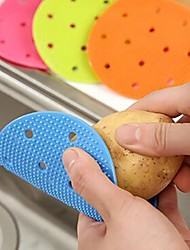 cheap -Multi-function Vegetable & Fruit Brush Potato Easy Cleaning Tools Kitchen Gadgets