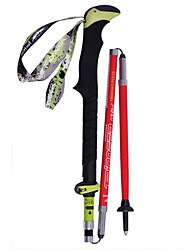 cheap -KORAMAN Outdoor Trekking Pole Ultralight Carbon Fiber Retractable Portable Hiking Walking