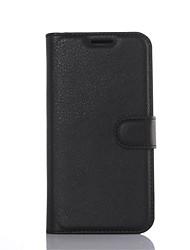 preiswerte -Für Samsung Galaxy Hülle Hülle Handyhülle für das ganze Handy Hülle Einheitliche Farbe Hart PU - Leder SamsungA9(2016) / A7(2016) /
