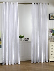 Grommet Top One Panel Curtain Country Living Room Polyester Material Curtains Drapes Home Decoration For Window