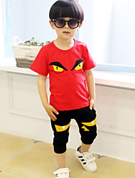 cheap -Boy's Summer Short Sleeve Clothing Set(More Color)
