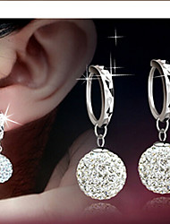 cheap -Women's Drop Earrings Bridal Elegant Costume Jewelry Rhinestone Alloy Ball Jewelry For Daily Casual
