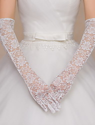 cheap -Lace Elbow Length Glove Bridal Gloves Party/ Evening Gloves