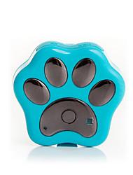 Недорогие -Кошка / Собака GPS-ошейники Водонепроницаемость / GPS / Батареи прилагаются пластик Синий