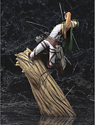 cheap -Attack on Titan PVC One Size Anime Action Figures Model Toys Doll Toy 1pc 28cm
