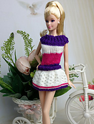 cheap -Casual Dresses For Barbie Doll Dresses For Girl's Doll Toy