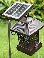 cheap -Solar Insect Zapper Mosquito Killer Bug Trap Electric Pest Fly Catcher Terminator UV