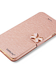 For iPhone X iPhone 8 iPhone 6 iPhone 6 Plus Case Cover Card Holder with Stand Flip Full Body Case Glitter Shine Hard PU Leather for Apple