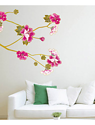 Botanical / Romance / Still Life / Florals Wall Stickers Plane Wall Stickers,pvc 50*70cm