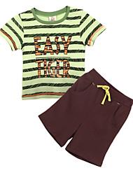 preiswerte -Jungen Kleidungs Set - Baumwolle Sommer
