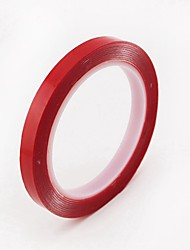 ZIQIAO Car Styling 8mm Car Truck 3M Tape Double-sided Acrylic Foam Adhesive Tape Automotive 3 Meters Long