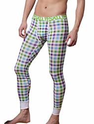 cheap -men long johns men's bodysuit pants mens print  tight leggings pants N500114