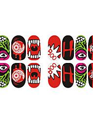 Недорогие -Стикер искусства ногтя макияж Косметические Ногтевой дизайн