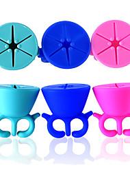 a nova ferramenta manicure proteção óleo de silicone wearable apoiar cor das unhas é opcional