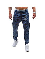 economico -Da uomo Attivo Attivo Pantaloni della tuta Pantaloni,Comodo Camouflage