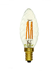cheap -E14 2200K-3000K 150-260Lm 220V 3W 4LED Dimmable Retro Imitation Tungsten Filament LED Candle Light