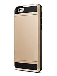 cassa del telefono portafoglio di lusso per iPhone 6S 6 Plus