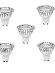 cheap -3W GU10 LED Spotlight MR16 1 leds COB Dimmable Warm White Cold White 280-350lm 3000K AC 220-240V