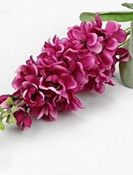 filiale di seta / delphiniums plastica tavolo fiore fiori artificiali (5 pezzi)
