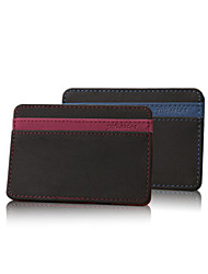 cheap -Unisex Bags Other Leather Type Wallet Money Clip for Shopping Casual Sports Outdoor All Seasons Dark Blue Purple