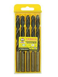 rewin® Werkzeug Edelstahl kobalthaltige Spiralbohrer Durchmesser: 8,5 mm mit 5pcs / box