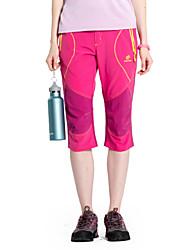 billige -Dame Trekkingbukser Udendørs Hurtigtørrende, Vindtæt, Ultraviolet Resistent Bukser / Underdele Campering & Vandring / Fiskeri / / Åndbart