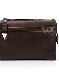 cheap -Men Bags All Seasons Other Leather Type Clutch Evening Bag with for Formal Brown Light Brown