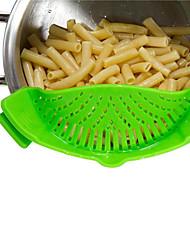 Kitchen Gizmo Sincone Snapn Strain Strainer on Pots Pants Bowls