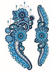 cheap -Fashion Large Temporary Tattoos Cartoons Sexy Body Art Waterproof Tattoo Stickers 2PCS  (Size: 5.71'' by 8.27'')