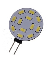 2W G4 LED Spotlight MR11 12 SMD 5730 200-250 lm Warm White Cold White 3000-3500K 6000-6500K K Decorative DC 12 AC 12 AC 24 DC 24 V 1pc