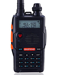 economico -BAOFENG UV-5R5TH-BLK Walkie-talkie Palmare Digitale Richiesta vocale Dual band Dual display Dual standby CTCSS/CDCSS LCD Radio FM 1.5 Km