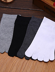 cheap -Men's Toe Socks Hiking Socks Socks Anti-skidding/Non-Skid/Antiskid Sweat-wicking for Yoga