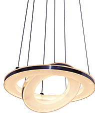 cheap -20W Modern/Contemporary LED Acrylic Pendant Lights Living Room / Bedroom / Dining Room / Study Room/Office