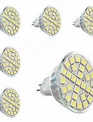 gu5.3 (MR16) LED-Strahler MR16 29 SMD 5050 440lm warmweiß 3000-3500K dekorative AC 220-240V