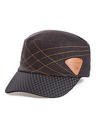 economico -Cappello Morbido Per uomo Giallo / Grigio / Nero Tessuto sintetico / Elastene / LinoCampeggio e hiking / Caccia / Pesca / Scalate /