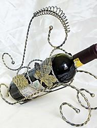 moda vinho rack criativo ferro forjado folha Frame da uva