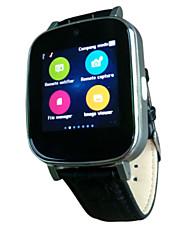billige -Smartur S9 for iOS / Android Handsfree opkald / FM Radio / Lyd / Sport Stopur / Sleeptracker / Vækkeur / 72-100 / MTK6261