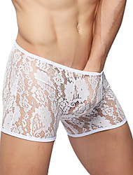 Men's Sexy Underwear Multicolor High-quality Lace  Boxers