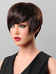 parrucca di capelli umani capelli parrucca corta 16 colori tra cui scegliere
